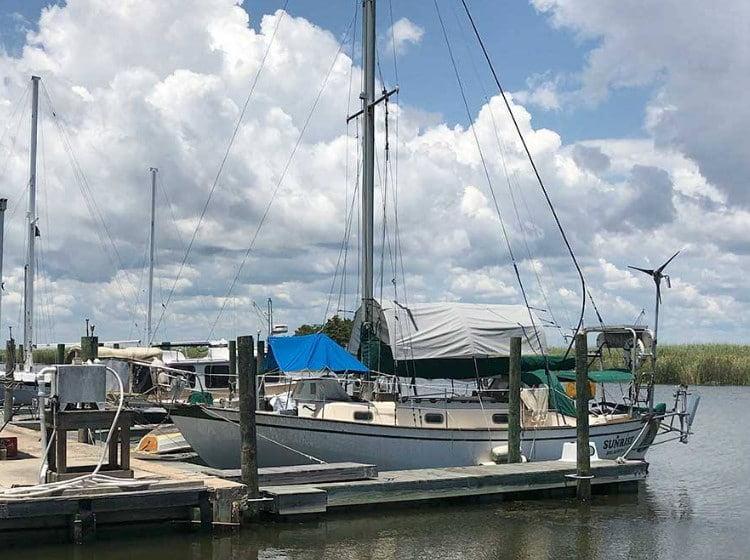 Apalachicola Boat Slips and Ramp
