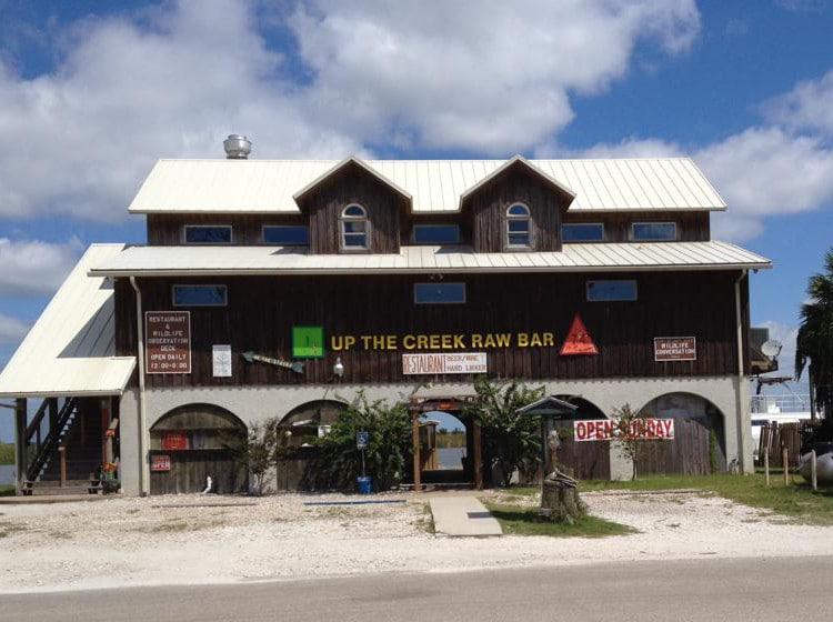 Up The Creek Raw Bar