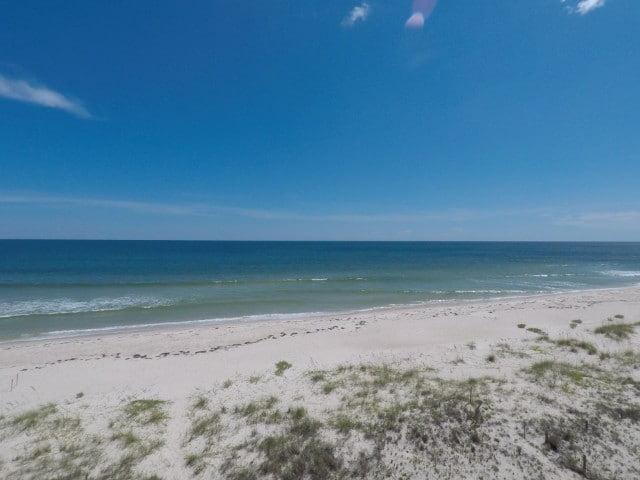 Empty Beach on Florida's Forgotten Coast