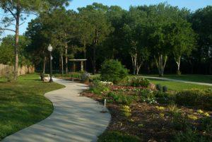Garden in Aplachicola Florida