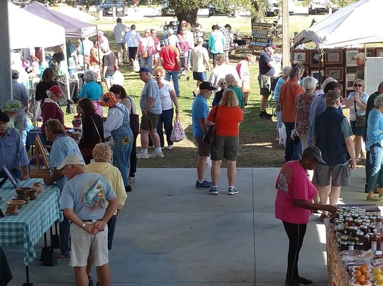 Farmers Market in Apalachicola Florida