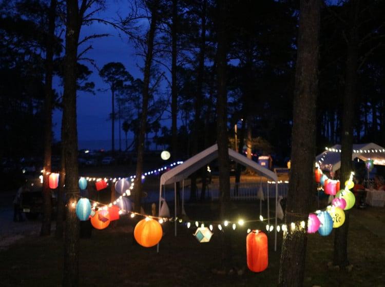 Lantern Festival held in Carrabelle Florida