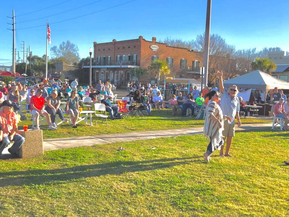 Oyster Cook Off in Apalachicola Florida