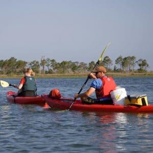 Couple Kayaking on St. George Island