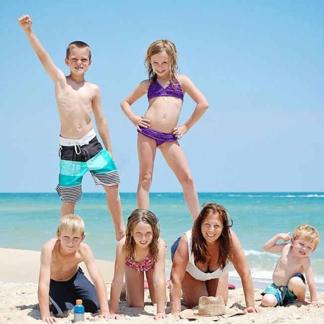 Family Vacation on St. George Island Beach