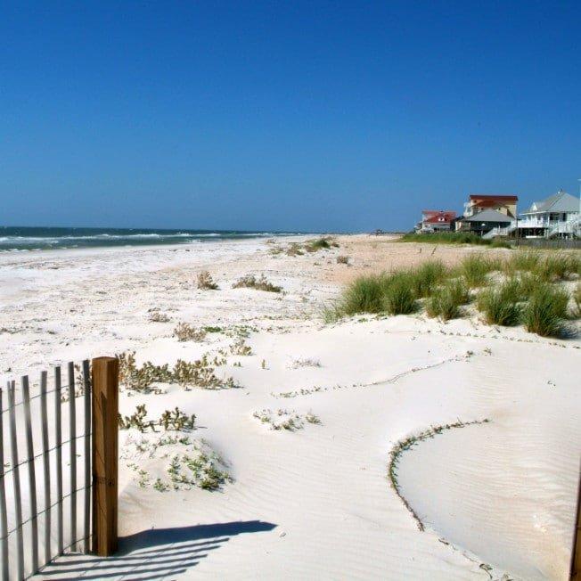 Beautiful St. George Island Beach in Florida