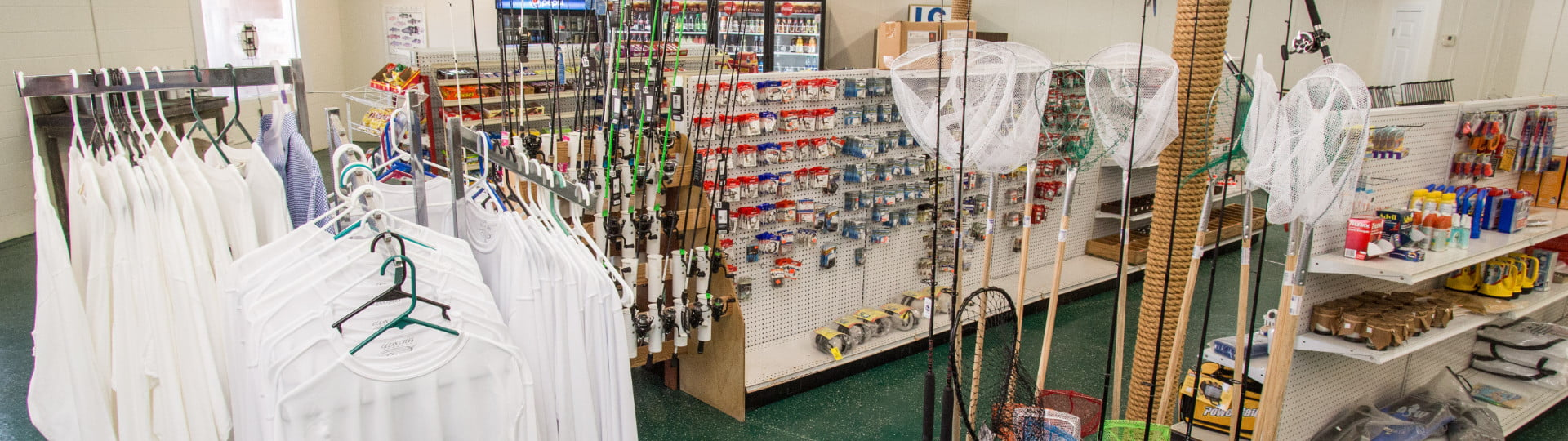 Bait and Tackle Shops