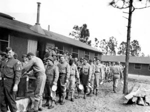 Old photo of troops at Carrabelle training