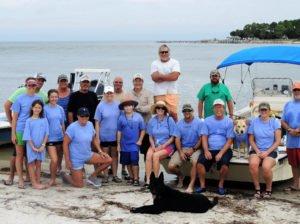 Coastal Cleanup Crew at Little St. George Island, FL
