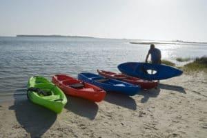 Paddling Adventure on St. George Island, Florida