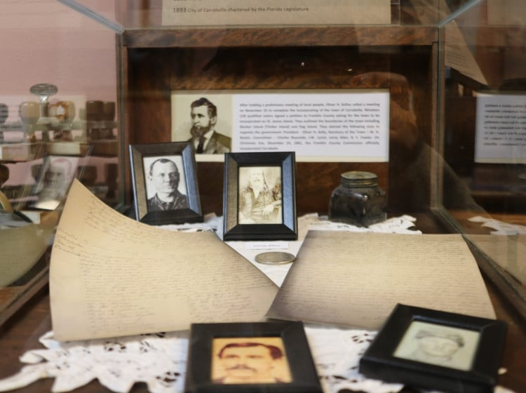 Special Exhibit Commemorating the Early Days of Carrabelle