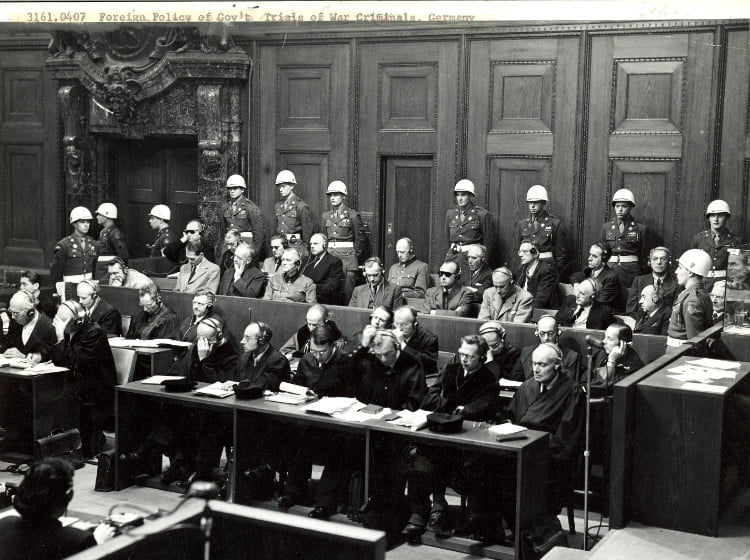 Special Exhibit: War Crime Trials of German Military and Government Members