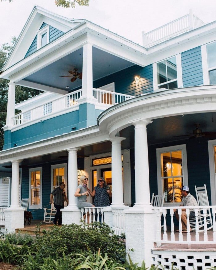 Gibson Inn in Apalachicola Florida romantic lodging
