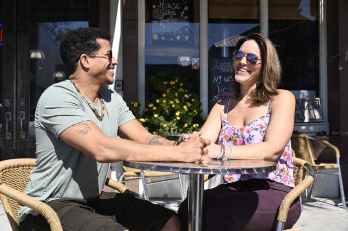 Couple enjoying one of the many restaurants on Florida's Forgotten Coast