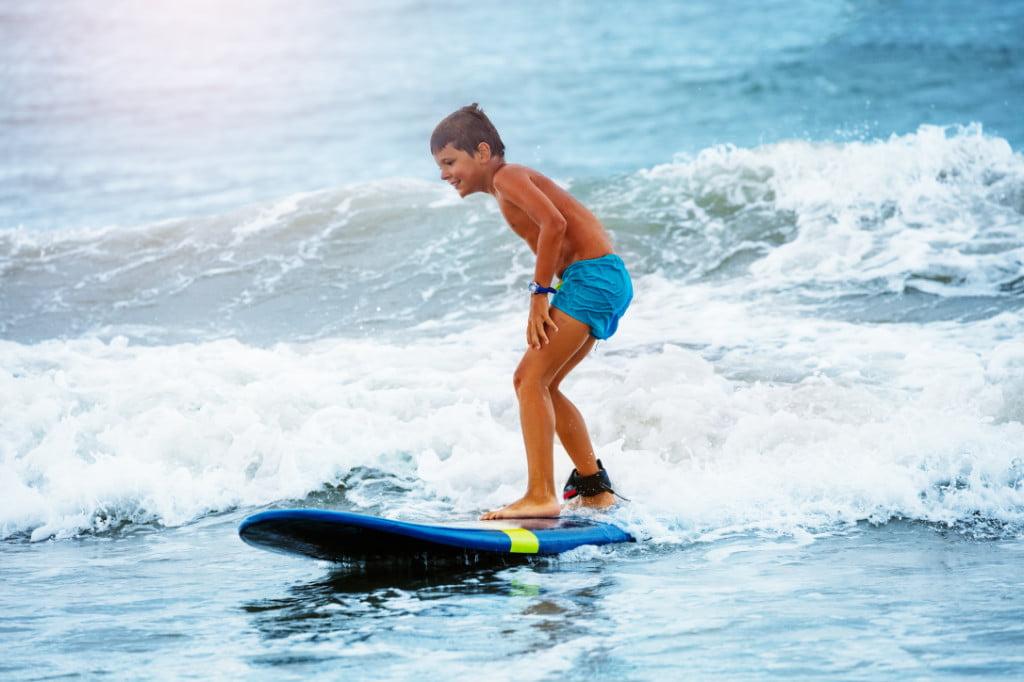 Surfing on St George Island FL