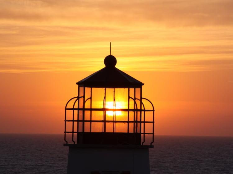 St. George Island Lighthouse Sunset