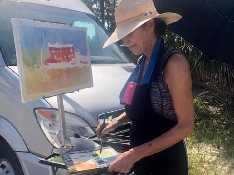 SGI Paint Out - St George Island Florida
