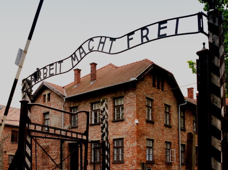 German Building for Camp Gordon Johnston WWII Museum Holocaust Speaker Series