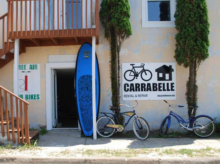 Carrabelle Bicycle House and Coastal Motion Paddleboard