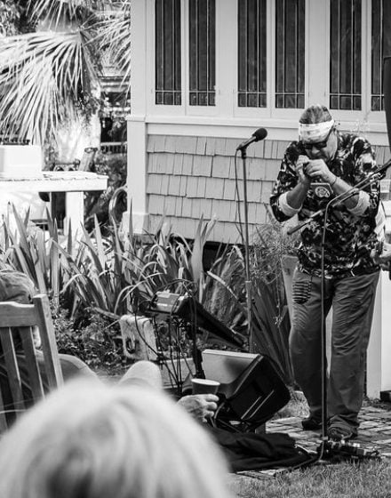 The Flying Fish playing at Porch fest Apalach 2020