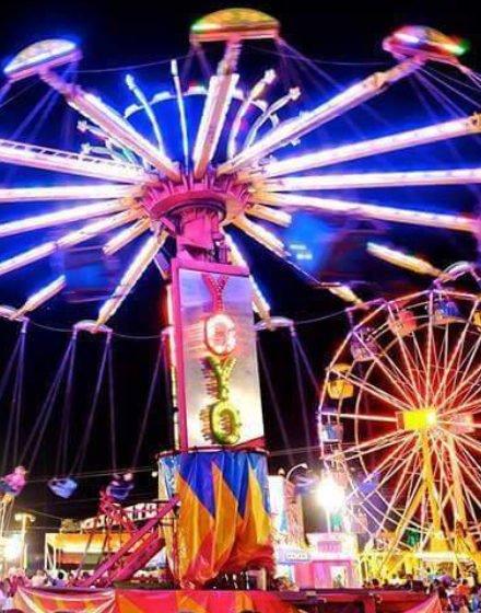 Florida Seafood Festival Rides