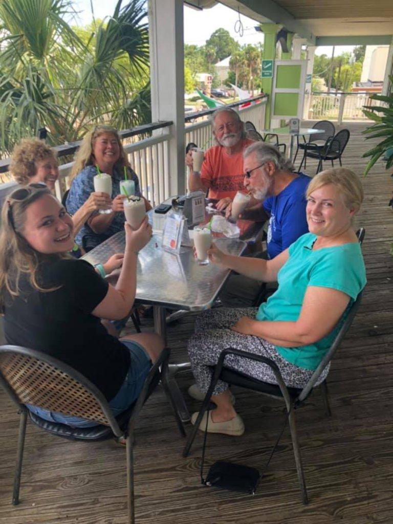 Up to No Good Tavern in Apalachicola, Florida