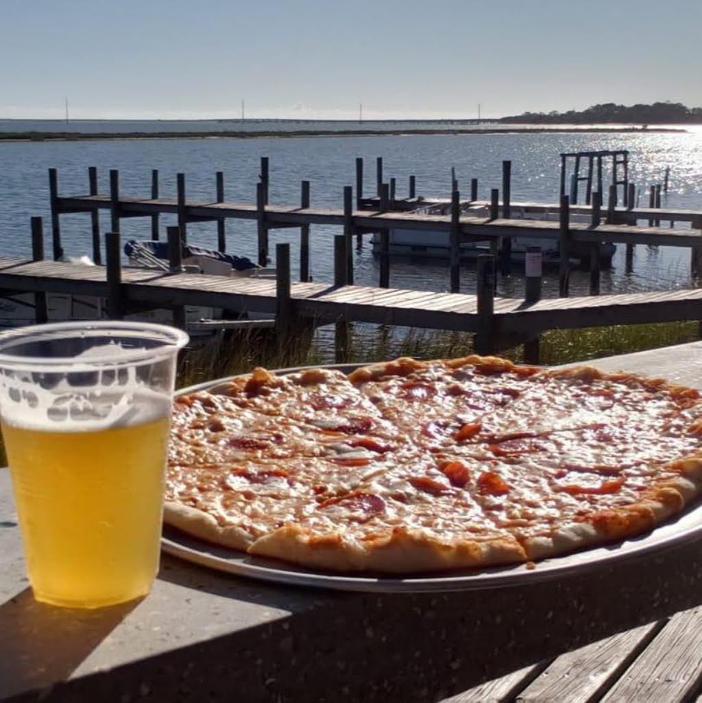 Pizza and Beer at Vincenzo's Eastpoint Florida